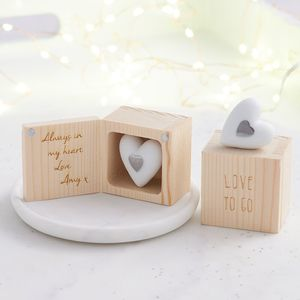 Personalised 'Love To Go' - decorative accessories