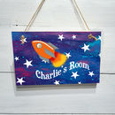 Rocket Door Sign