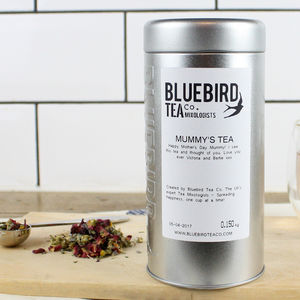 Personalised Tea Tin Gift | 100 Cups Of Tea