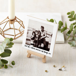 Personalised Ceramic Photo And Mini Easel - gifts for women
