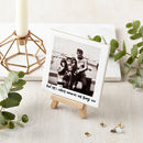 Personalised Ceramic Photo And Mini Easel