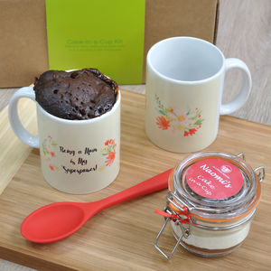 Babyshower Or New Mum Chocolate Muffin In A Mug - kitchen