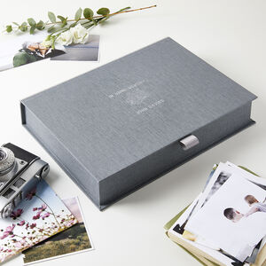 Personalised In Loving Memory Keepsake Box