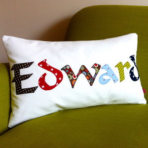 Personalised Named Cushion - personalised cushions