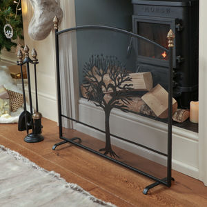 Country Style Tree Of Love Fire Guard - furniture