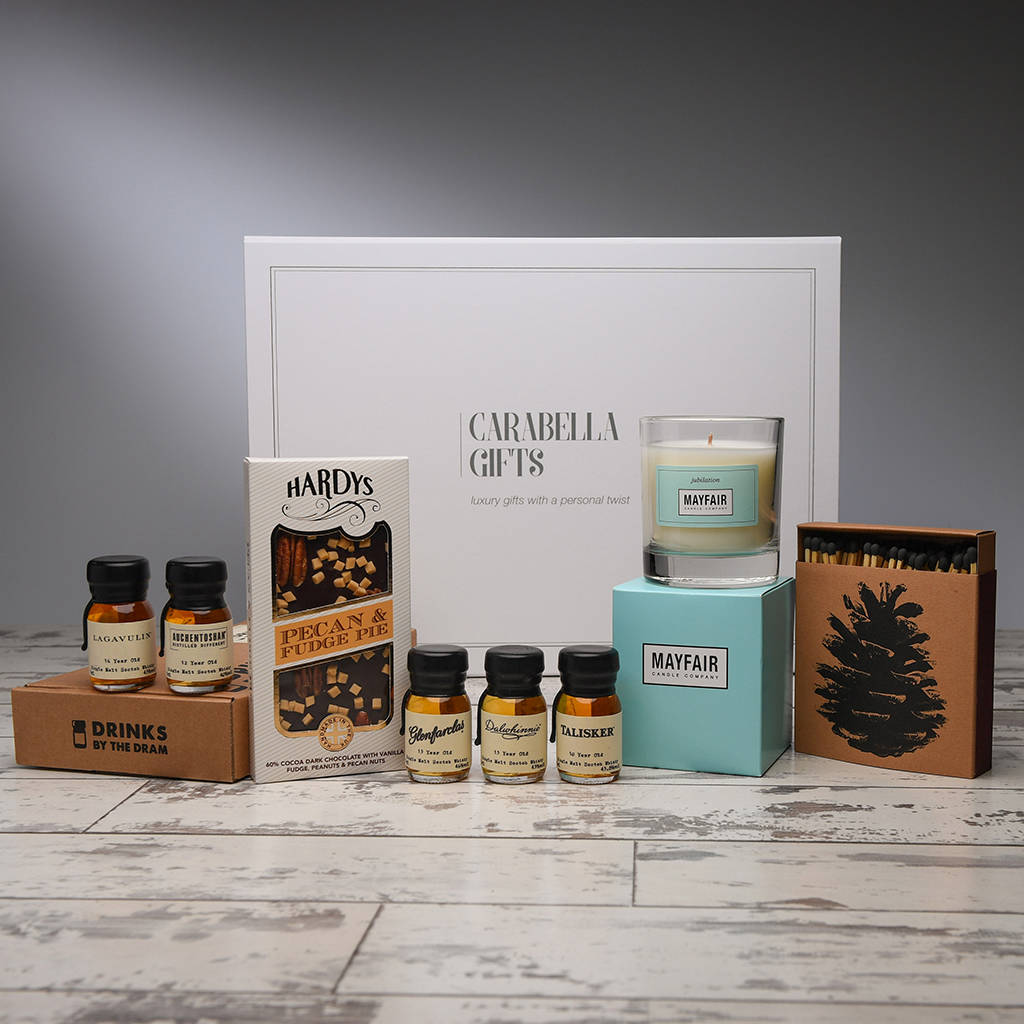 Whiskey Tasting And Treats Hamper