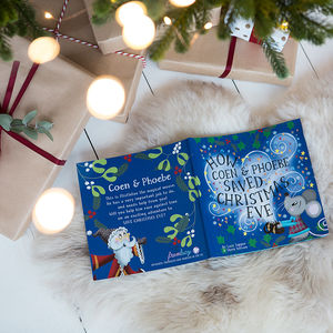 Personalised Christmas Eve Children's Book - personalised