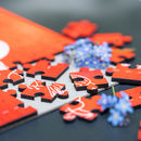 Personalised 'I Love You To Pieces' Jigsaw