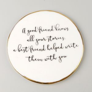 Best Friend Quote Coaster