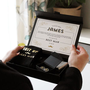 Groomsman Gift Box - keepsake boxes
