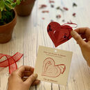 Plantable Pop Up Heart