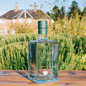 Engraved Gordon Castle Gin