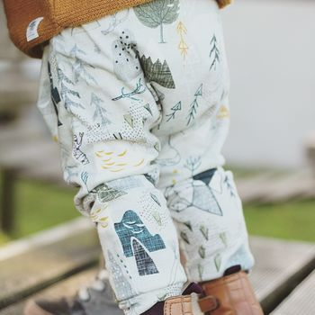 Mountains Organic Leggings