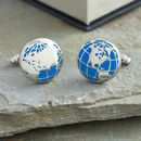 The World Traveller Cufflinks
