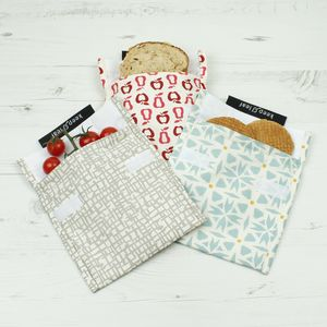 Large Reusable Baggies - lunch boxes & bags