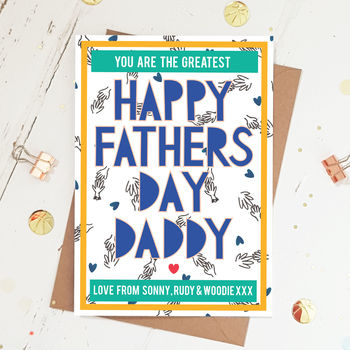 Happy Fathers Day Daddy Card