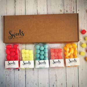 Get Well Soon Letterbox Sweets Gift Box