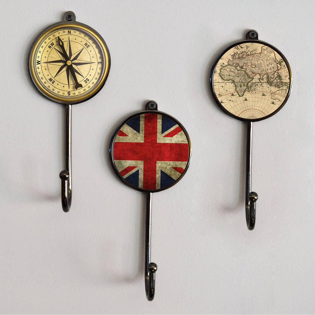 antique style black metal coat wall hooks by pushka home