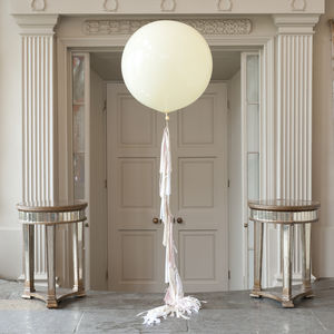 Elegance Tassel Tail Giant Balloon - outdoor decorations