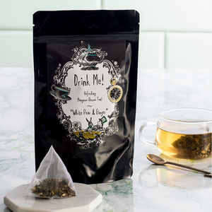 Hangover Rescue Tea - wedding favours