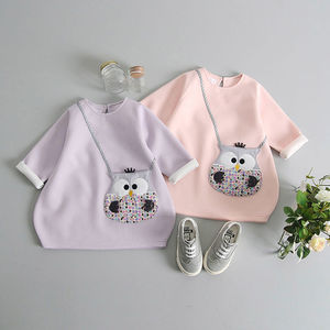 Owl Handbag Pocket Tunic - new in baby & child