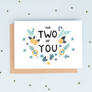 'The Two Of You' Greeting Card
