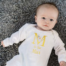 Personalised Alphabet Romper Suit