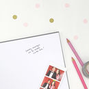 Personalised Mr And Mrs Wedding Guest Book