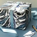 Whale Wrapping Paper Set