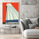 Manchester Iconic Beetham Tower Print