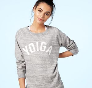 Yo!Ga Sweatshirt, Grey And Aqua - more