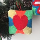 Make Your Own Heart Tapestry Hanging Ornament Kit