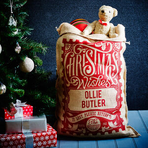 The Red Rowland Personalised Christmas Sack