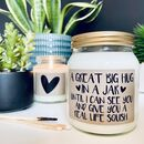 Your Own Bespoke Message Scented Soy Candle