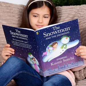 Personalised 'The Snowman And The Snowdog' Book - baby's first christmas
