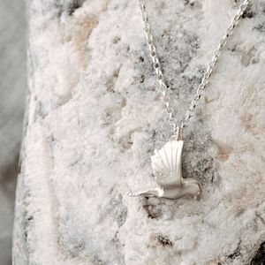 Sterling Silver Dove Necklace - necklaces & pendants