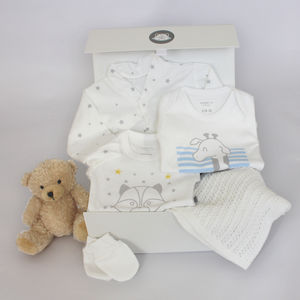 New Baby Bed Time Gift Box With Rudy Raccoon - baby care