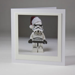 Santa Trooper Fine Art Photo Christmas Card