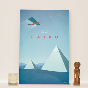 'Visit Cairo' Travel Poster