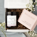 Mum Hamper Candle And Bath Gift Set