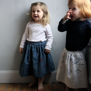 Antique Linen Skirt - babies' skirts