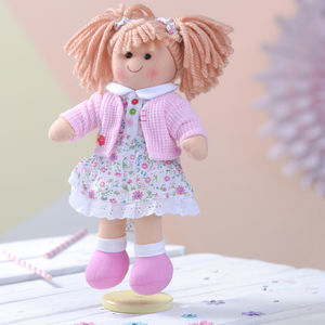 Traditional Rag Doll Poppy - soft toys & dolls