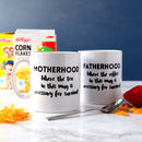 Personalised Fatherhood Mug
