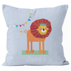 Personalised Lion Cushion - view all new