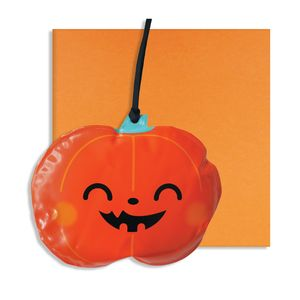 Halloween Inflatable Pumpkin Decoration Card