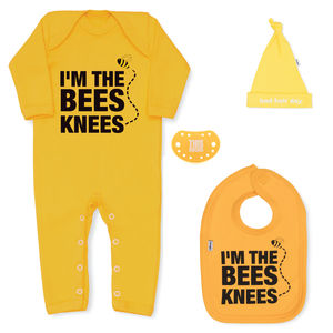 Bees Knees Newborn Baby Gift Set