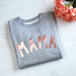 Rose Gold Mama Sweatshirt