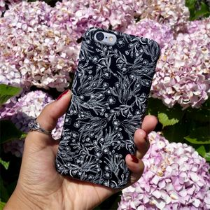 Monochrome Wild Butter Cups Phone Case