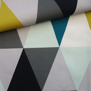 Geometric Prisma Fabric - soft furnishings & accessories