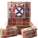 Autumn Tartan Hamper for Two